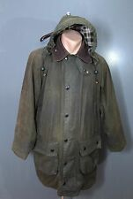Barbour A123 Gamefair C 38/ 97 cm With Hood Waxed Jacket Mens