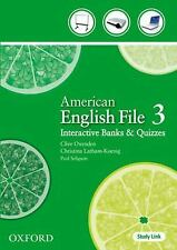 American English File 3 by Clive Oxenden (2009, CD)