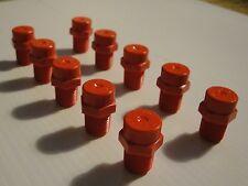 """Misting Nozzle Plastic  x10pc  Low Flow  1/8"""" MPT"""