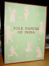 1956 Folk Dances Of India; Assam, Bengal, Punjab, Madhya Pradesh, Deccan