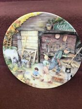 Collectors Plate Royal Doulton Susan Neale Old Country Craft The Wheelwright
