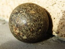 NWA 869 Sahara Desert Stone Meteorite Sphere Polished Space Ball 65.7 Grams