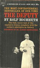THE DEPUTY Rolf Hochhuth - DRAMA - POPE PIUS XII AS WILLING TOOL FOR NAZI HITLER