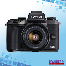 Brand New Canon EOS M5 Mirrorless Camera Black with EF-M 15-45mm Lens Kit