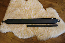 Ultimate hand made italian Deluxe guitar strap Leather & Velvet covered padding