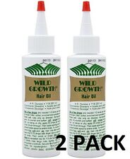 WILD GROWTH 4oz HAIR OIL Detangler/Extender! Olive, Jojoba, Coconut Oil * 2 PACK