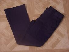 George Girls School Uniforms Navy Blue Flat Front Pants Size 10