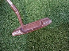 "USED LIMITED JAPAN PING BERYLLIUM COPPER BECU COPPER PING PAL 4 34"" PUTTER"
