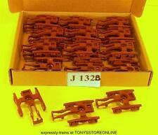 j132b BULK BONUS BUY jouef ho spares 36x brown bogie frames apps unknown