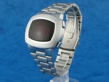 1970s Old Vintage Style LED LCD DIGITAL Rare Retro Watch 12  24 hour PULSOMATIC