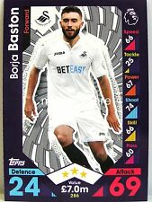 Match Attax 2016/17 Premier League - #286 Borja Baston - Swansea City AFC