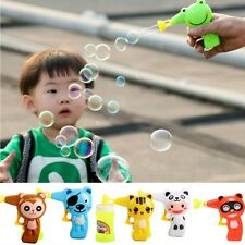 Bubble Gun Blower Shooter Kids Party Garden Toy Different Pattern Christmas Gift