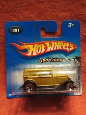 Hot Wheels  2005-097  Ford Delivery 1932  Gold   NOC 1:64 scale (11) G6824