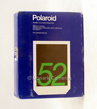 "20 Sheets of Polaroid PolaPan 52 4""x5"" B&W Instant Sheet Film. More Sizes Listed"