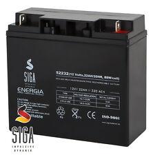 Blei Akku 22AH 12V AGM GEL Batterie Booster Hochstrom USV Batterie 18Ah 20Ah