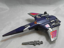TRANSFORMERS GENERATION 1, G1 DECEPTICON FIGURE CYCLONUS 100% COMPLETE