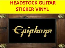 EPIPHON GOLD DECAL HEADSTOCK STICKER VISIT OUR STORE WITH MANY MORE MODELS