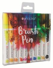 Talens Ecoline Brush Pens Set Of 10
