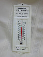 """Vintage Thermometer Anderson Health Service Massage Working 6 1/2"""""""