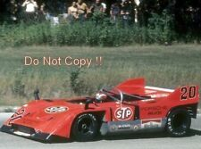 Jo Siffert STP Porsche 917/10 Road Atlanta Can Am 1971 Photograph