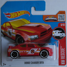 "Hot Wheels - Dodge Charger SRT8 rot ""Fire"" TREASURE HUNT Neu/OVP"