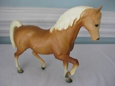 "BREYER~VINTAGE~(FAS) FAMILY ARABIAN STYLE~""FAITH FAMILY STALLION""~MATTE~PALOMINO"