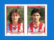 CALCIATORI PANINI 1998-99 Figurina-Sticker n. 487 -CAVERZAN-GALLET CREMONESE-New