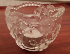 Mikasa Fiesta Votive Candleholder Clear Frost - Bells & Bows with box