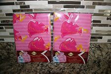 New 2 Disney Princess Aurora Pink Santa Sack Large Gift Bag 36 in x 44 in