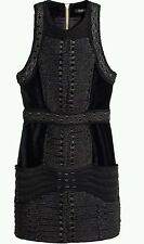 Balmain x h&m hm dress velvet velours size 36 - UK 8 BNWT in hands