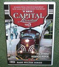 "b013 TRAIN VIDEO DVD ""PLYMOUTH & LINCOLN-NEW ENGLAND SOUTHERN CAPITAL LIMITED"""