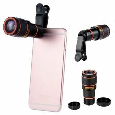 Universal Clip-on 12X Optical Zoom HD Telescope Camera Lens Kit For Mobile Phone