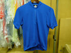 New Blue Canari Short Sleeve Jersey...Men's Small (Second Quality)