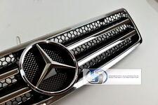 Mercedes R129 SL320 SL500 Grille Grille 90~02 Frame Black 1990~2002 bk Frame O