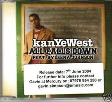 (284W) KanYeWest, All Falls Down ft S Johnson - DJ CD