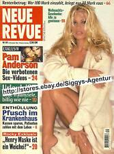 Neue Revue - Nr. 49/1996 vom 28. November 1996 - Pam Anderson, Sex-Videos