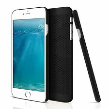 iPhone 6/6S Case Protective Anti-scratch Mesh Net Flexible scilicon (Black)