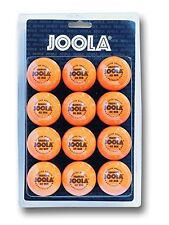 "Joola table tennis balls training quality - 40mm"" - pack of 12, orange color"