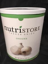 Nutristore Freeze Dried Onions Emergency Survival Food Supply 9.8 Oz 40 Serving