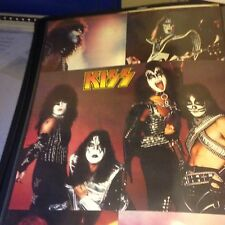 Kiss Rock And Roll Over Collage Poster