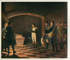 N°107 coffins cercueil Frederick the Great Napoleon Ier War 1806 IMAGE CARD  30s