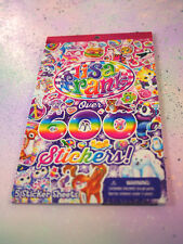 Mega Lisa Frank Stickers Booklet Over 600 Stickers / Lisa Frank Stickers Book