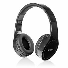 Opteka BTX-1 Wireless Bluetooth Headphones with Microphone & Built-In Battery