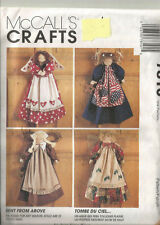 "McCall's Craft Sewing Pattern #7810 Angel Dolls 22"" and Clothes UNCUT"