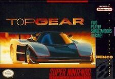 Top Gear (Super Nintendo Entertainment System, 1992) Just the cartridge