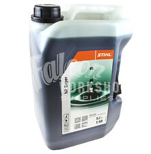 STIHL HP SUPER 2 STROKE OIL 5L CAN FULLY SYNTHETIC FOR 4-MIX & 2 STROKE ENGINES