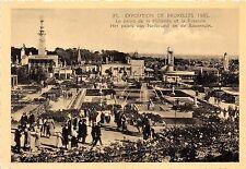 BR41418 Le palais de la hollande et la roseraie Exposition de bruxel     Belgium