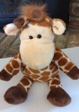 Manhattan Toy Giraffe Puppet Plush 14""