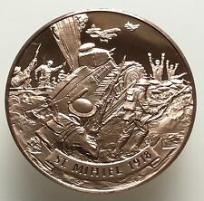 American Legion Famous Battle Of St. Mihiel World War I WWI Coin Medal