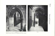 1928 Church Of St. Etheldreda Ely Place London South Doorway